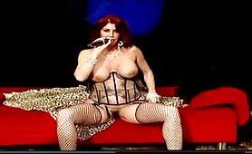 Milly D'Abbraccio spettacolo in tv