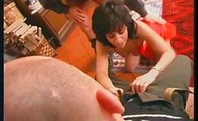 La brasiliana Lara Granti gode in doppia penetrazione incestuosa