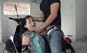 Bella trapanata con la sexy pornostar Mary Tarantino
