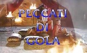 Peccati di gola - film porno italiano completo
