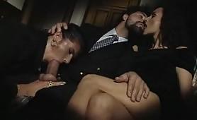 Orgia perversa con la pornostar Dalila
