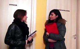 La Mantide 2015 porno completo con Rossella Visconti e Cristal Jolie