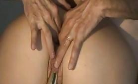 Fisting anale per Maurizia, porcona matura bergamasca dal culo allargato!