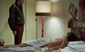 Antonia Santilli, attrice italiana ripresa nuda in scena vintage