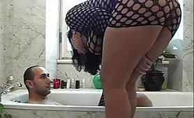 Scena porno ripresa dal film Forza, Italia